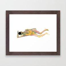 Cuerpo 01 Framed Art Print