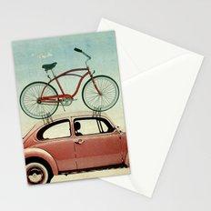 VW bike rack Stationery Cards
