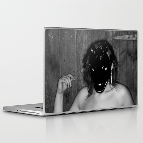 Follow me.. Laptop & iPad Skin