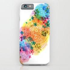 rainbow mandala cloud iPhone 6 Slim Case