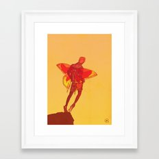 You Should Treat Your Muse Like A Fairy Framed Art Print