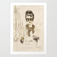 My Breakfast At Tiffany'… Art Print
