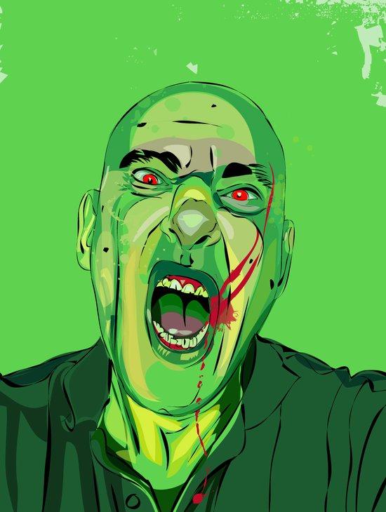 Self Infected Art Print