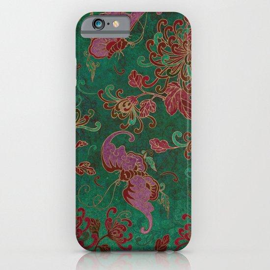 Chrysanthemum Garden iPhone & iPod Case