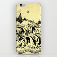 Sleeping Mountains iPhone & iPod Skin