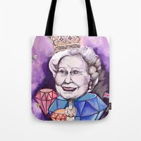 Lizzie In The Sky With D… Tote Bag