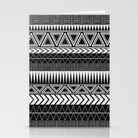 Tribal Monochrome. Stationery Cards