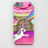 Unicorn And Ice Cream Ki… iPhone 6 Slim Case