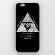 Legend Of Zelda Kingdom … iPhone & iPod Skin