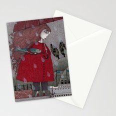 At the Harbor Stationery Cards