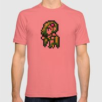 Final Fantasy II - Rydia Mens Fitted Tee Pomegranate SMALL