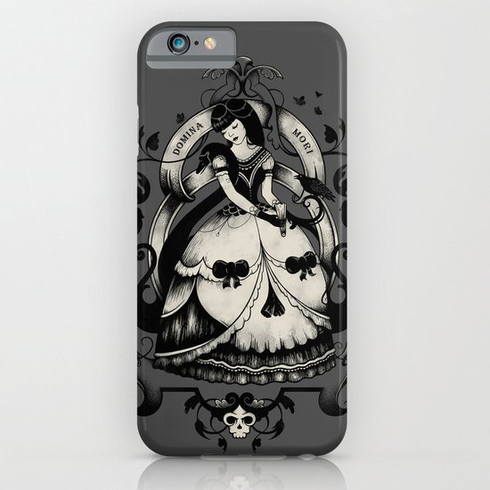 Domina Mori iPhone & iPod Case