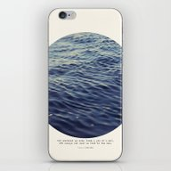 iPhone & iPod Skin featuring You Or Me by Tina Crespo