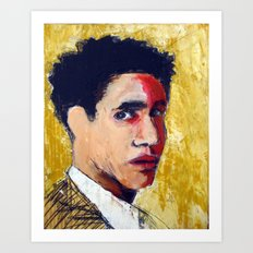 1968 Killed Bobby Kennedy (Sirhan Sirhan) Art Print