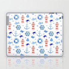 Marin pattern Laptop & iPad Skin