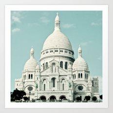 Sacre Coeur Art Print