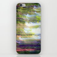 Sun shower in the Fairy Forest iPhone & iPod Skin