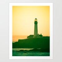 Lighthouse (2) Art Print