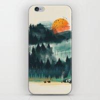 Wilderness Camp iPhone & iPod Skin