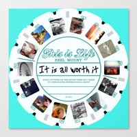 This Is Life - Viewmaster Canvas Print