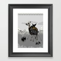 The Capture Of The Feath… Framed Art Print