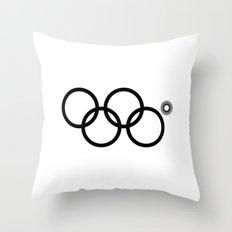 Olympic games logo 2014. Sochi. Throw Pillow