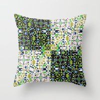 Patchwork 1 Throw Pillow