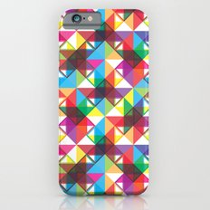Abstract blocks pattern Slim Case iPhone 6s