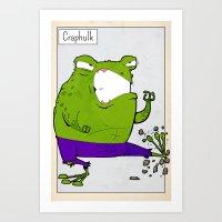 CRAPHULK - FAN ART AVENG… Art Print