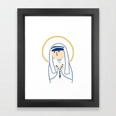 St. Teresa (Mother Teresa) Framed Art Print