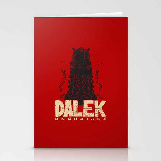 Dalek Unchained Stationery Card