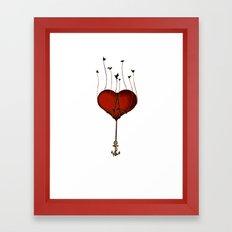 Cast your Anchor Framed Art Print