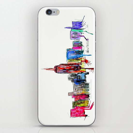 new york inked  iPhone & iPod Skin