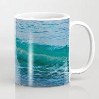 Crashing Wave At Dusk Mug