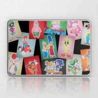 Cartoon Family Laptop & iPad Skin