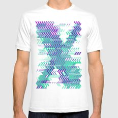 Electro Ex Mens Fitted Tee White SMALL