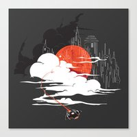 Uncharted Voyage Canvas Print