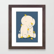 Big Mama Framed Art Print