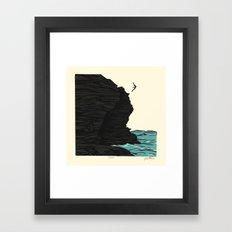 Dare Framed Art Print