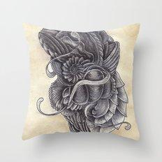 Lifeform 2S9-378 Throw Pillow
