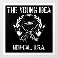 The Young Idea - NorCal Emblem Art Print