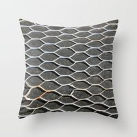 Hole In The Net Throw Pillow