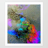 Urban Rainbow Art Print
