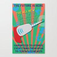 The Galactic Atomizer Canvas Print