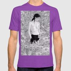 Ambient Mens Fitted Tee Ultraviolet SMALL