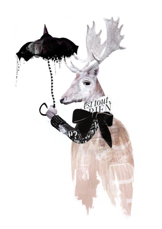 RainDeer Art Print