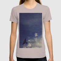 Blown away Womens Fitted Tee Cinder SMALL