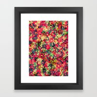 Where The Flowers Cry Framed Art Print