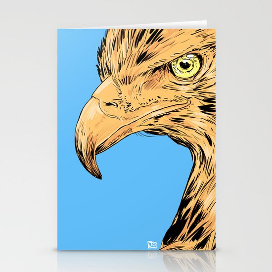 Eagle Stationery Card