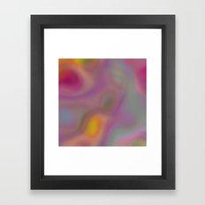 Destinys Kiss Framed Art Print
